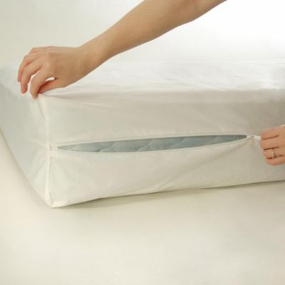 Bedcare By National Allergy Cotton 12 Inch Extra Long Twin Mattress Protector