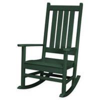 POLYWOOD® Vineyard Porch Rocker in Green