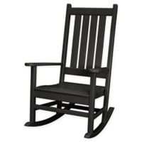 POLYWOOD® Vineyard Porch Rocker in Black