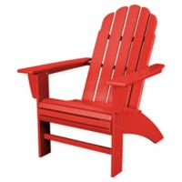 POLYWOOD® Vineyard Curveback Adirondack Chair in Sunset Red