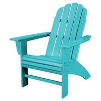 POLYWOOD® Vineyard Curveback Adirondack Chair in Aruba