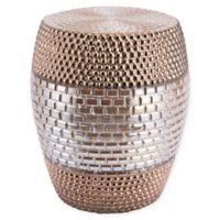 Zuo® Modern Pearl Garden Seat in Gold