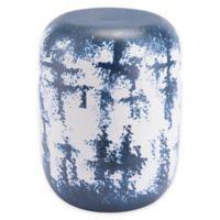 Zuo® Modern Mar Garden Seat in White/Blue