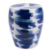 Zuo® Modern Pinto Garden Seat in Blue/White