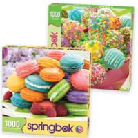 2-Pack 1,000-Piece Sweet Treats Jigsaw Puzzles