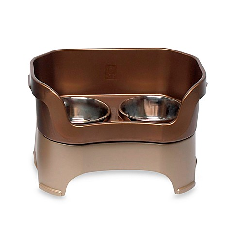 Buy Neater Feeder 174 Bronze Mess Proof Large Pet Bowl From
