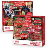 2-Pack Coca-Cola 1000-Piece Jigsaw Puzzle