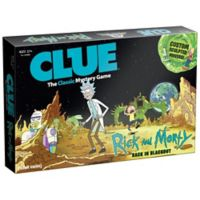 Clue® Rick and Morty™ Edition Board Game