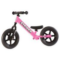 Strider® 12 Sport Balance Bike in Pink