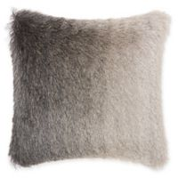 Mina Victory By Nourison Celadon Illusion Shag Throw Pillow in Charcoal