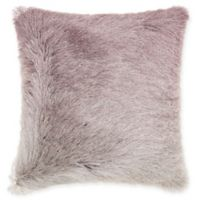 Mina Victory By Nourison Celadon Illusion Shag Throw Pillow in Lavender