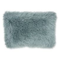 Mina Victory By Nourison Celadon Shimmer Oblong Throw Pillow in Celadon