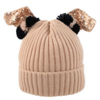 Rising Star™ Toddler Bunny Ear Beanie in Pink