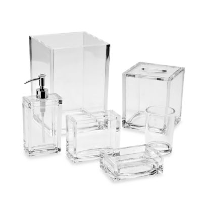 buy acrylic dispenser from bed bath & beyond
