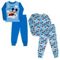 Disney® Size 24M 4-Piece Mickey Mouse Pajama Set