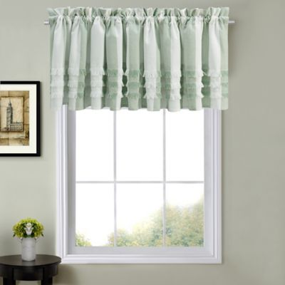 Juliette Kitchen Window Curtain Valance In Sage