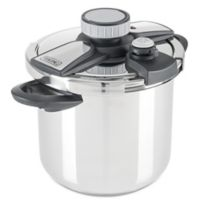 Viking® Easy Lock 8 qt. Stainless Steel Pressure Cooker with Steamer