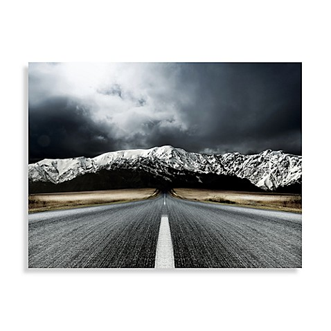 open road center panel wall art - bed bath & beyond