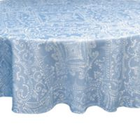 Lenox® Lancaster Perle 70-Inch Round Tablecloth in Blue
