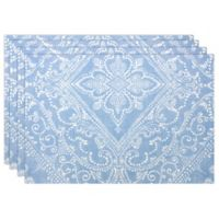 Lenox® Lancaster Perle Placemats in Blue (Set of 4)