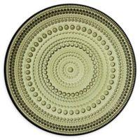 Iittala Kastehelmi 6.75-Inch Plate in Green