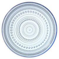 Iittala Kastehelmi 6.75-Inch Plate in Aqua