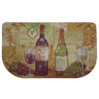 Home Dynamix Dumont Wine 31.5-Inch x 19.6-Inch Kitchen Slice Mat