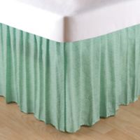 Brisbane Queen Bed Skirt in Aqua