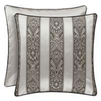J. Queen New York Chancellor European Pillow Sham in Silver