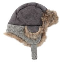 Rising Star™ Newborn Cable Trapper Hat