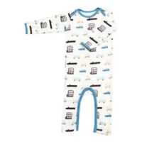 Bestaroo 0-3M Cars Coverall in Blue