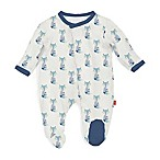 Magnetic Me by Magnificent Baby® Size 6M Magnetic Modal Fox Footie