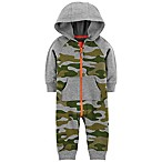 carter's® 6M Camo Hooded Jumpsuit in Heather
