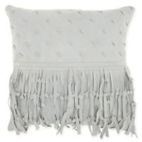 Mina Victory By Nourison Knots Square Throw Pillow in Grey
