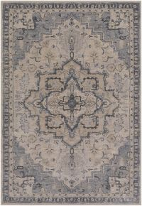 Surya Fewell 5-Foot x 7-Foot 6-Inch Area Rug in Grey