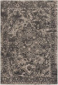 Surya Sebree 7-Foot 10-Inch x 10-Foot 3-Inch Area Rug in Black