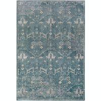 Surya Carlisle Modern 5-Foot 3-Inch x 7-Foot 3-Inch Area Rug in Light Beige