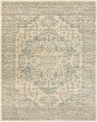 Surya Carlisle Classic Large Medallion 7-Foot 10-Inch x 9-Foot 10-Inch Area Rug in Beige