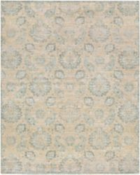 Surya Carlisle Classic Floral 7-Foot 10-Inch x 9-Foot 10-Inch Area Rug in Cream