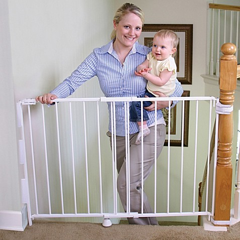 Regalo 174 2 In 1 Top Of Stairs Gate Buybuy Baby