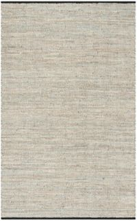 Safavieh Vintage Leather 5' x 8' Trevor Rug in Beige