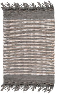 Safavieh Vintage Leather Quade 3' x 5' Area Rug in Grey