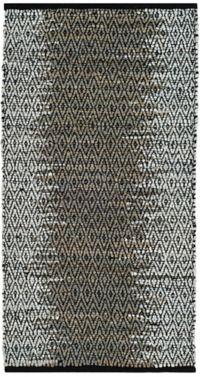 Safavieh Vintage Leather Kesler 2' x 3' Accent Rug in Grey