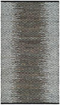 Safavieh Vintage Leather Kesler 4' x 6' Area Rug in Grey