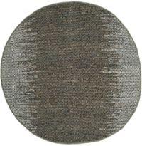 Safavieh Vintage Leather Kesler 6' Round Area Rug in Grey