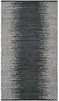 Safavieh Vintage Leather Kesler 4' x 6' Area Rug in Charcoal