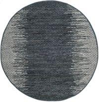 Safavieh Vintage Leather Kesler 4' Round Area Rug in Charcoal