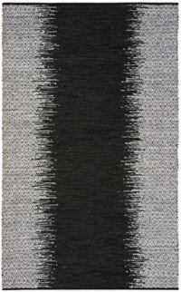 Safavieh Vintage Leather Kesler 5' x 8' Area Rug in Black
