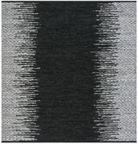 Safavieh Vintage Leather Kesler 6' Square Area Rug in Black