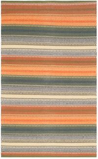 Safavieh Striped Kilim 8' x 10' Melissa Rug in Gold